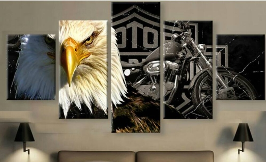eagle-canvas-collage